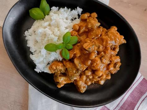 Gemüse Curry mit Kichererbsen
