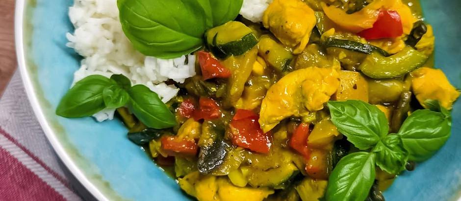 Gemüse Puten Curry