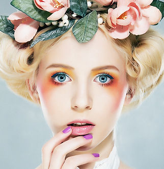 floral Coiffe