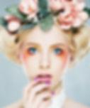 Цветочный головной убор