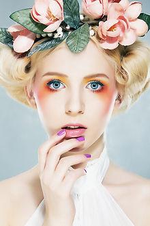 maquillaje naranja ojos
