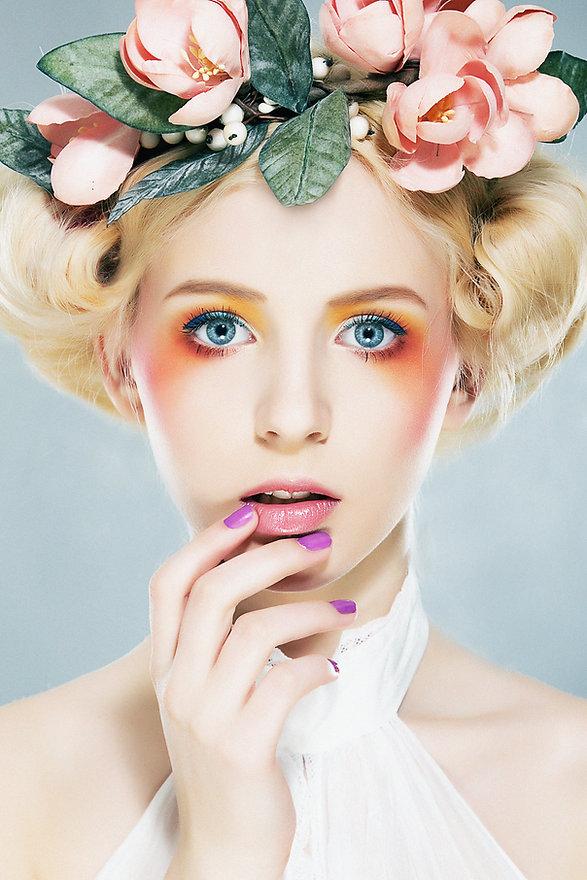 casco floral