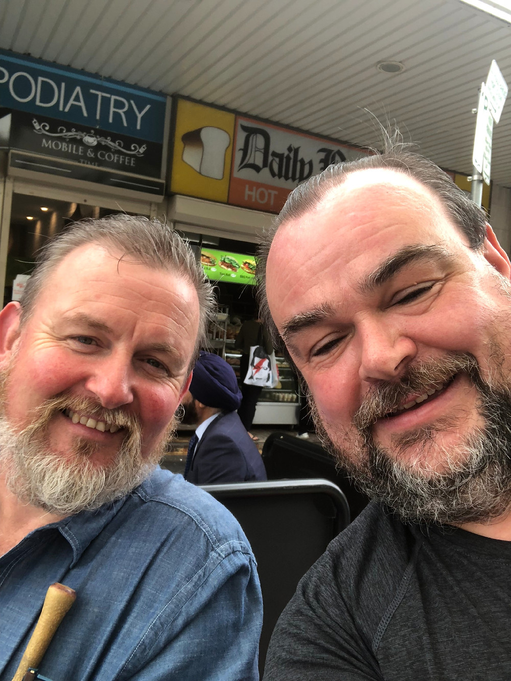 Sullie & Pat in Blacktown