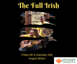 The Full Irish -Sponars