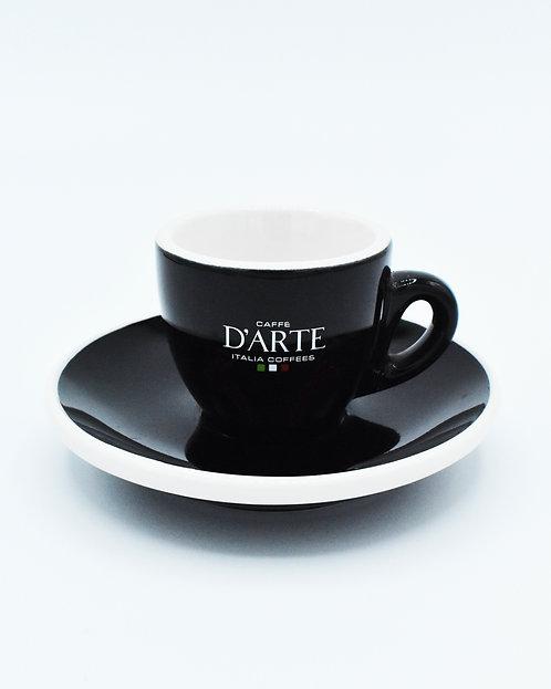 Ceramic Espresso Cup & Saucer