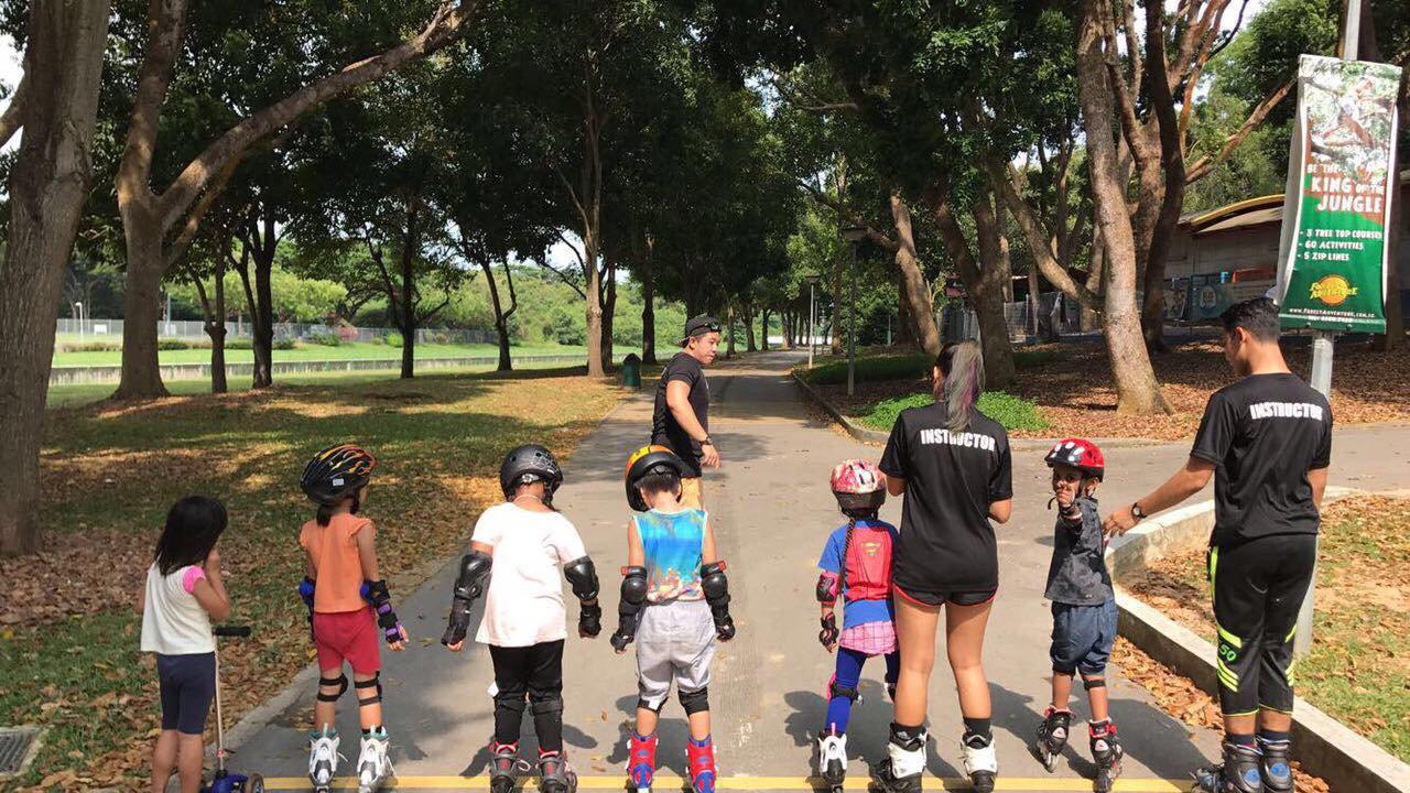 Bedok Skating Lesson Package