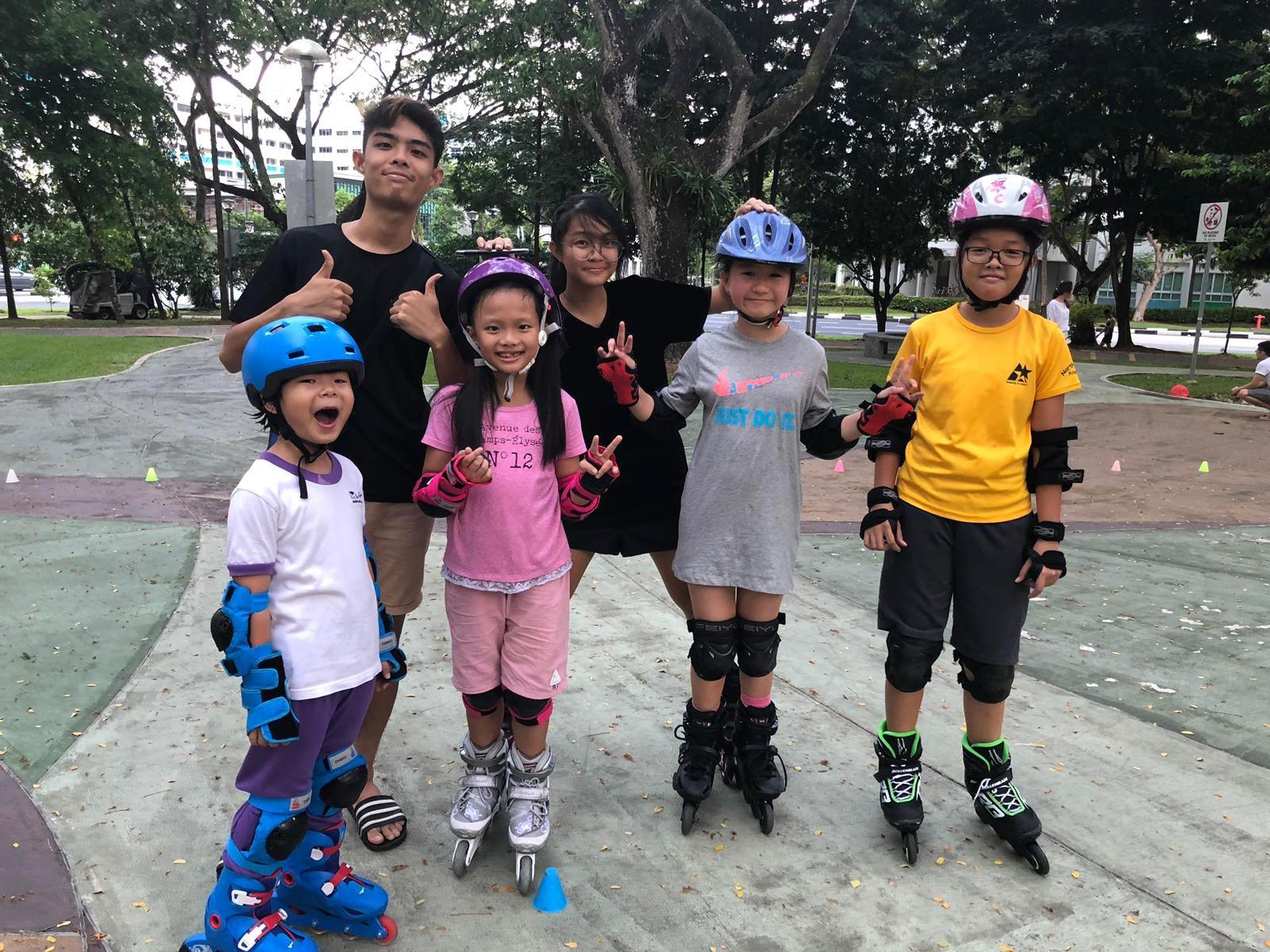 Yishun Park Skating Lesson Package