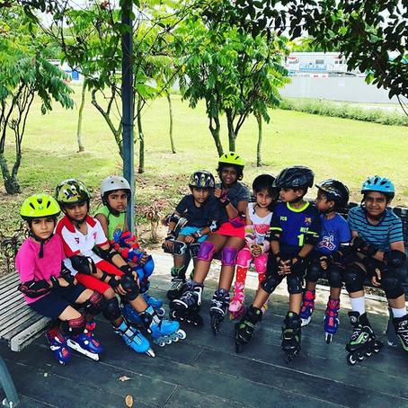 Sembawang Park Inline Skating Lesson