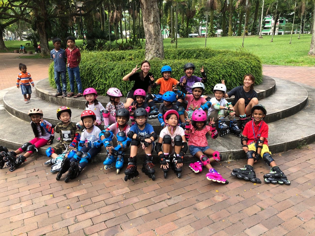 Punggol Park Skating Lesson Package