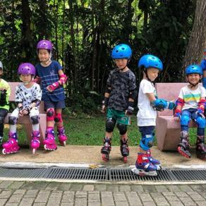 Yishun Park Inline Skating Lesson