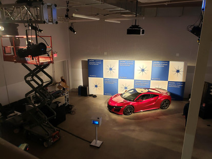 Acura NSX Promo Shoot Backdrop!