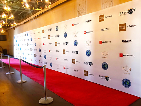 40 FOOT WIDE STEP & REPEAT!!!