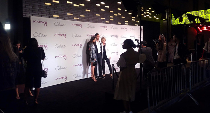 Moxy LES Grand Opening Step & Repeat Production!