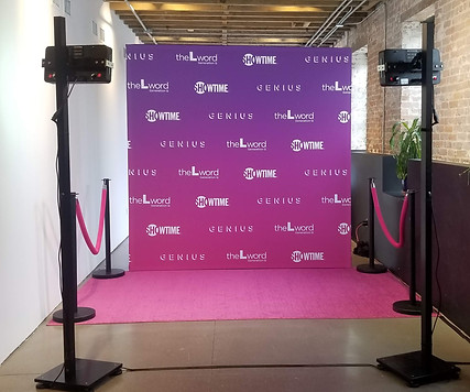Pink & Purple Step & Repeat!