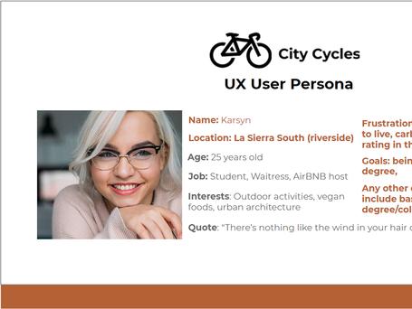 Creating User Personas