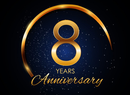 Today is our 8 Year Anniversary!!