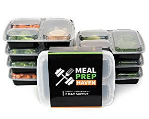 Meet the 3-COMPARTMENT CONTAINER! April Nutrition Tip- Week 2