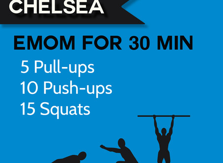 4.27.20 At-home Workout