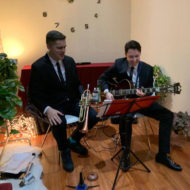 Duo in Brooklyn, March 2019