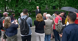 Jack Baxter at Speakers' Corner in Hyde Park – London, England