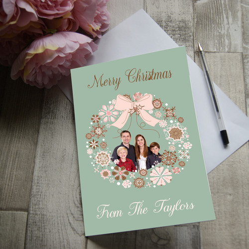 Greetings cards always forever personalised merry christmas from the greetings card m4hsunfo