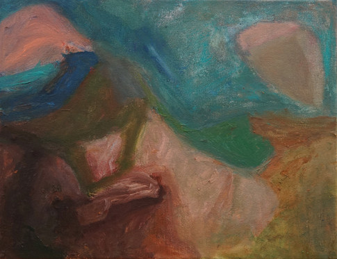 November Tiaro Landscape Painting