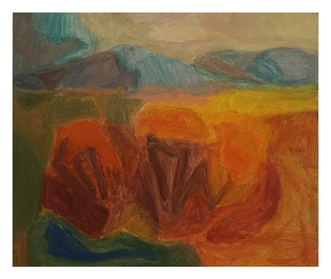 November Tiaro Landscape Painting #2