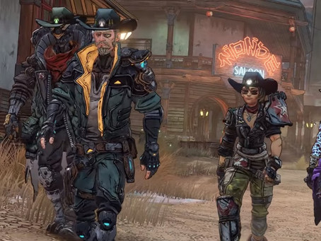 Borderlands 3 bounty of blood release - out now