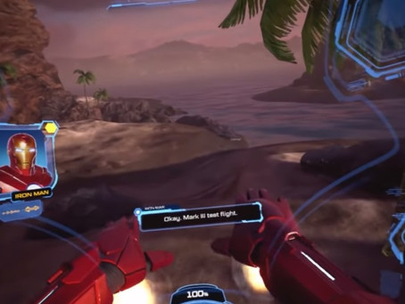 Ps Vr Iron Man release date and gameplay