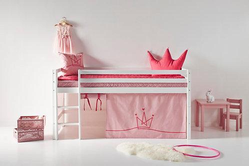 Κουρτίνες για κουκέτα ροζ