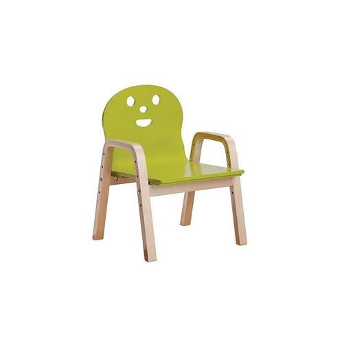 παιδική πολυθρόνα από ξύλο για μικρά παιδάκια σε 5 χρώματα
