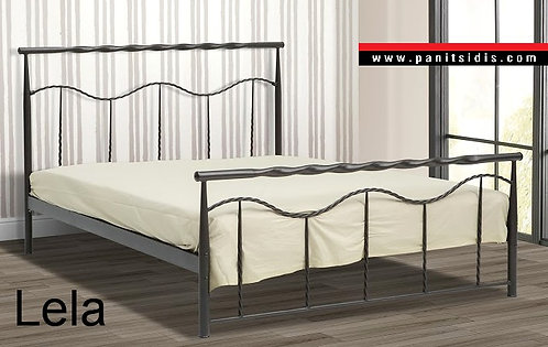 Μεταλλικά κρεβάτια μονά διπλά χειροποίητα