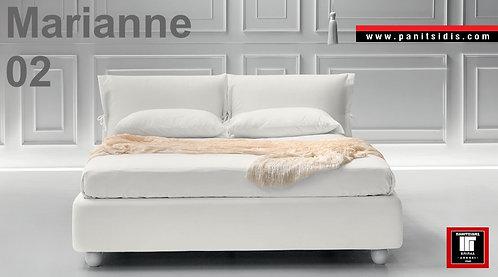 διπλό ντυμένο κρεβάτι με ύφασμα, με μαξιλάρες αφαιρούμενες σε πολλά χρώματα για στρώμα 120Χ200