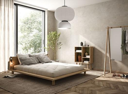 Peek Bed / Διπλό ξύλινο κρεβάτι