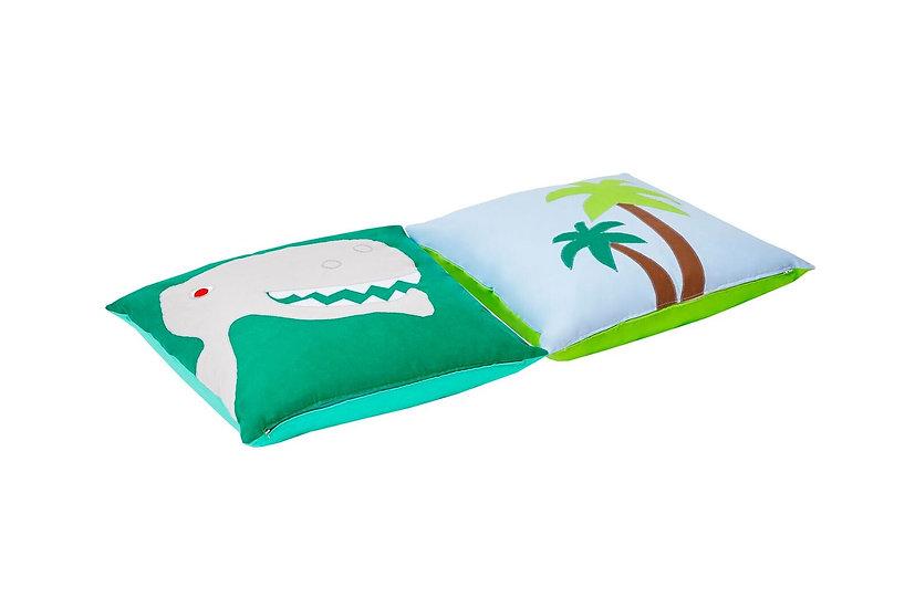 σετ παιδικών μαξιλαριών από ύφασμα με θέμα Δεινόσαυρος