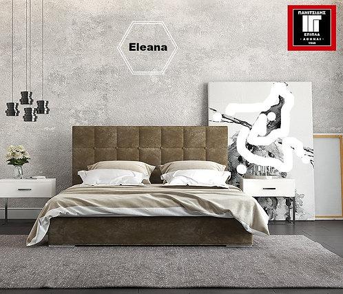 διπλό ντυμένο κρεβάτι για στρώμα 150Χ200 με αποθηκευτικό χώρο και ανατομικό τελάρο, σε πολλά χρώματα υφάσματος
