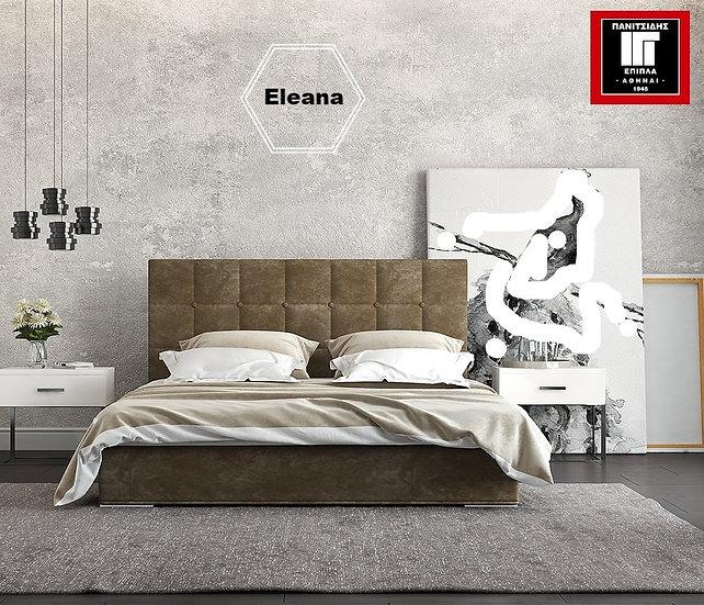 Ντυμένο κρεβάτι 90Χ200 σε πολλά χρώματα υφάσματος με βάση υπόστρωμα