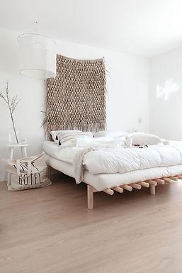 Pace bed / Διπλό κρεβάτι μασίφ ξύλο