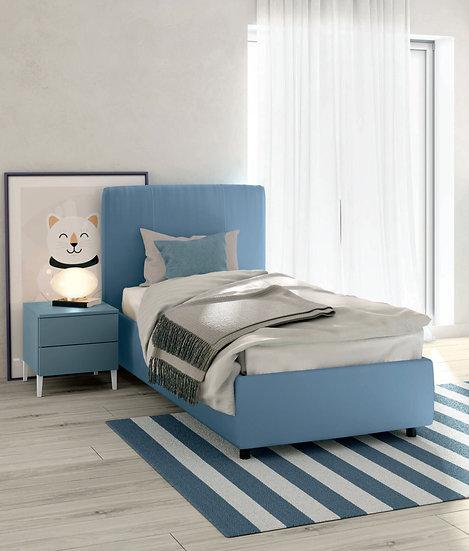 Ντυμένο κρεβάτι με αποθηκευτικό χώρο παιδικό