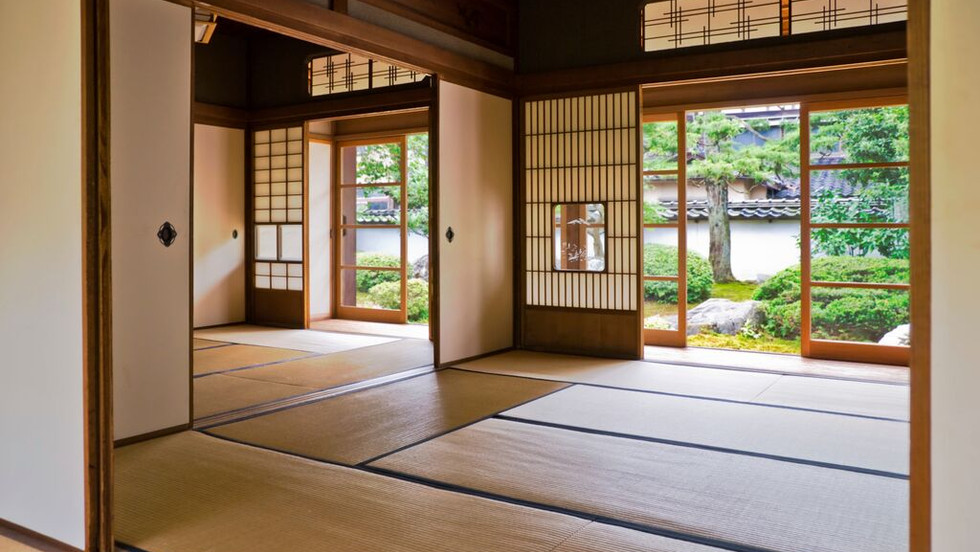 tatami mats traditional Japanese παραδοσιακά Ιαπωνικά τατάμι