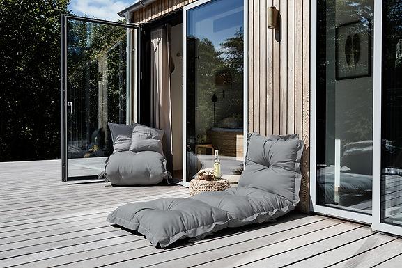 Sit and Sleep OUT / μονό στρώμα/πολυθρόνα futon