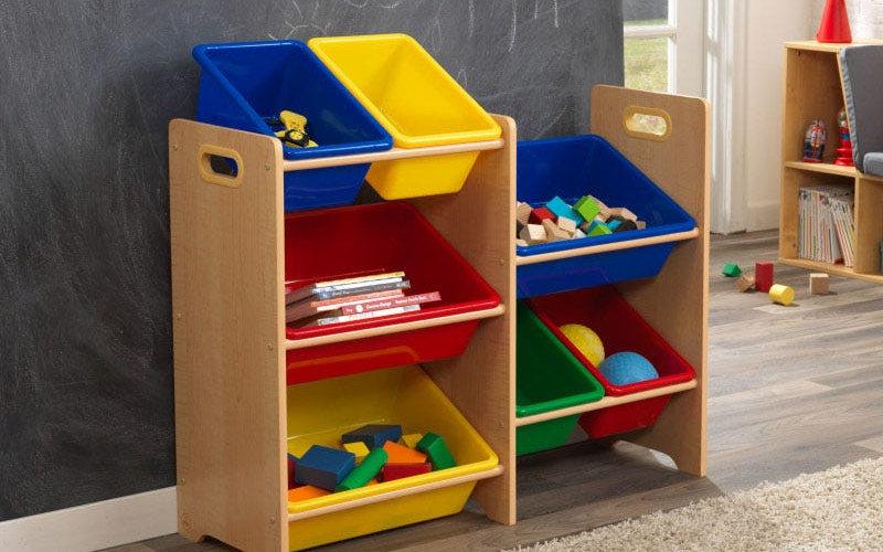 7 Bin Storage Unit - Kidkraft / Σύστημα αποθήκευσης παιδικού δωματίου