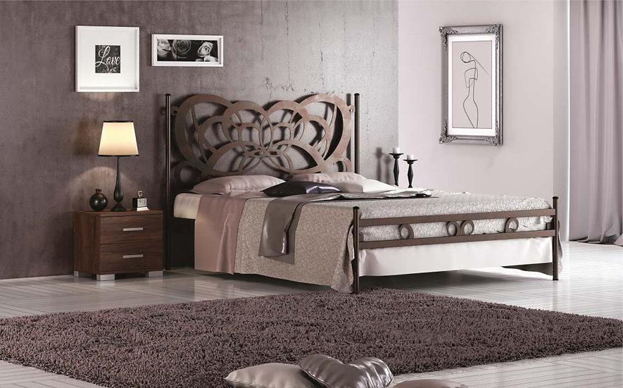 Διπλό μεταλλικό κρεβάτι