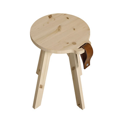 Country stool-table / σκαμπώ-τραπεζάκι