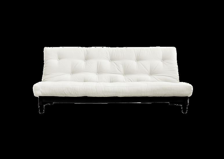 Fresh Sofa Bed Black / Διπλός Καναπές Κρεβάτι