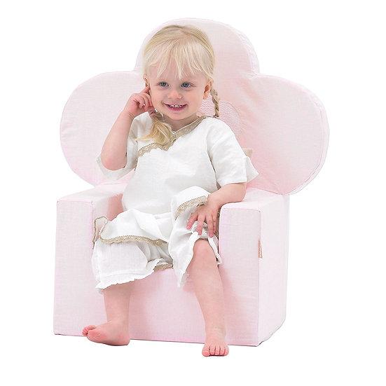 πολυθρόνα παιδική ροζ ύφασμα,polithrona paidiki gia koritsia