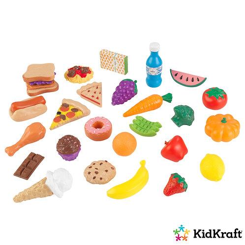 σετ από φαγητά και φρούτα για παιχνίδι kidkraft