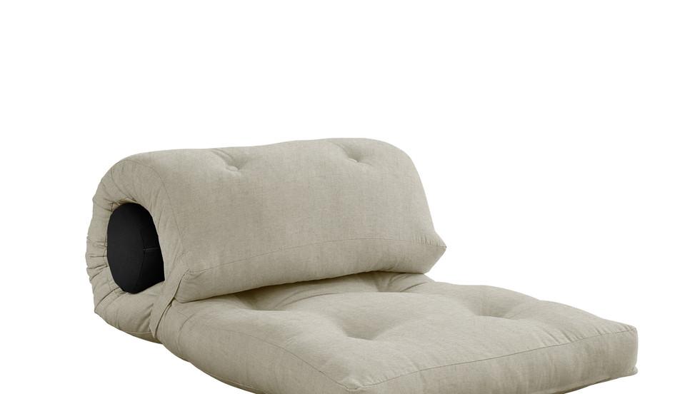 μονή πολυθρόνα -κρεβάτι φουτόν σε πολλά χρώματα
