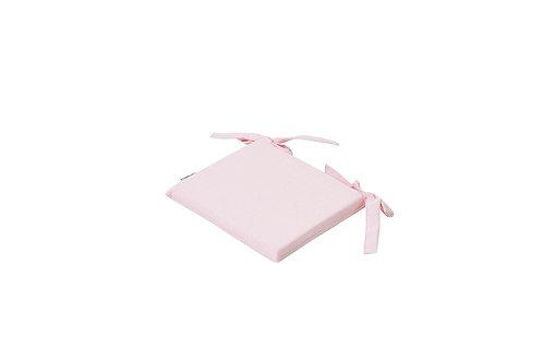 τετράγωνο μαξιλαράκι ροζ για παιδικό καρεκλάκι