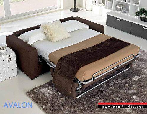 καναπές κρεβάτι με πτυσσόμενο μηχανισμό διπλού κρεβατιού με στρώμα 140 Χ 192, εισαγωγής από Ιταλία